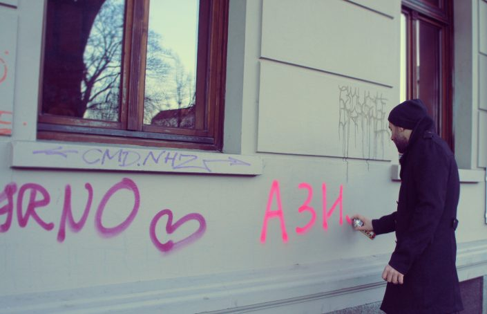 asylum marina markovic boris sribar performance gallery art ist private public existential rights berlin kunsthalle